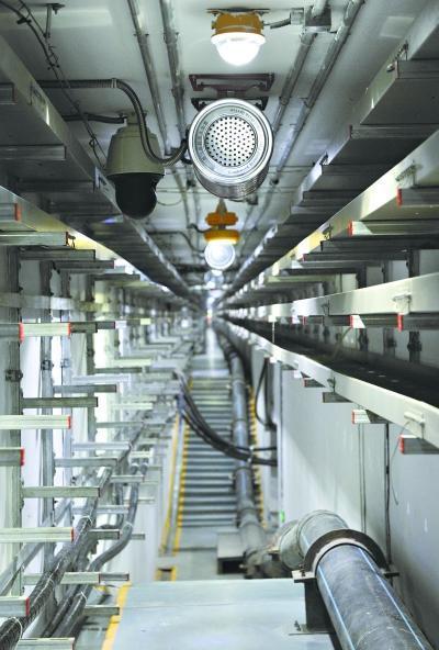 武汉中央商务地下管道的综合仓